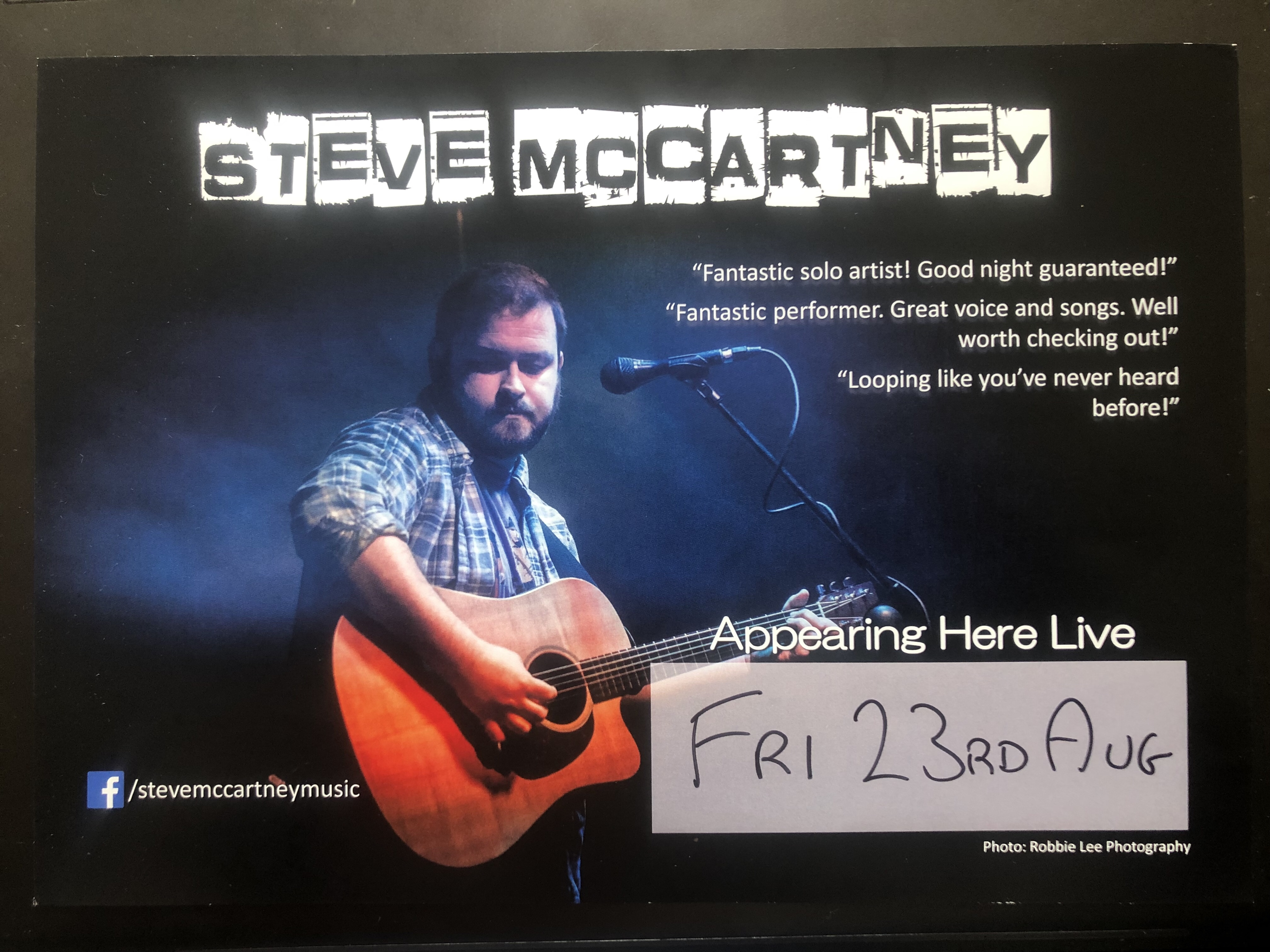 Friday Night Live – 23rd August 2019