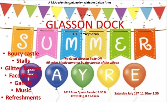 Glasson School Summer Fair