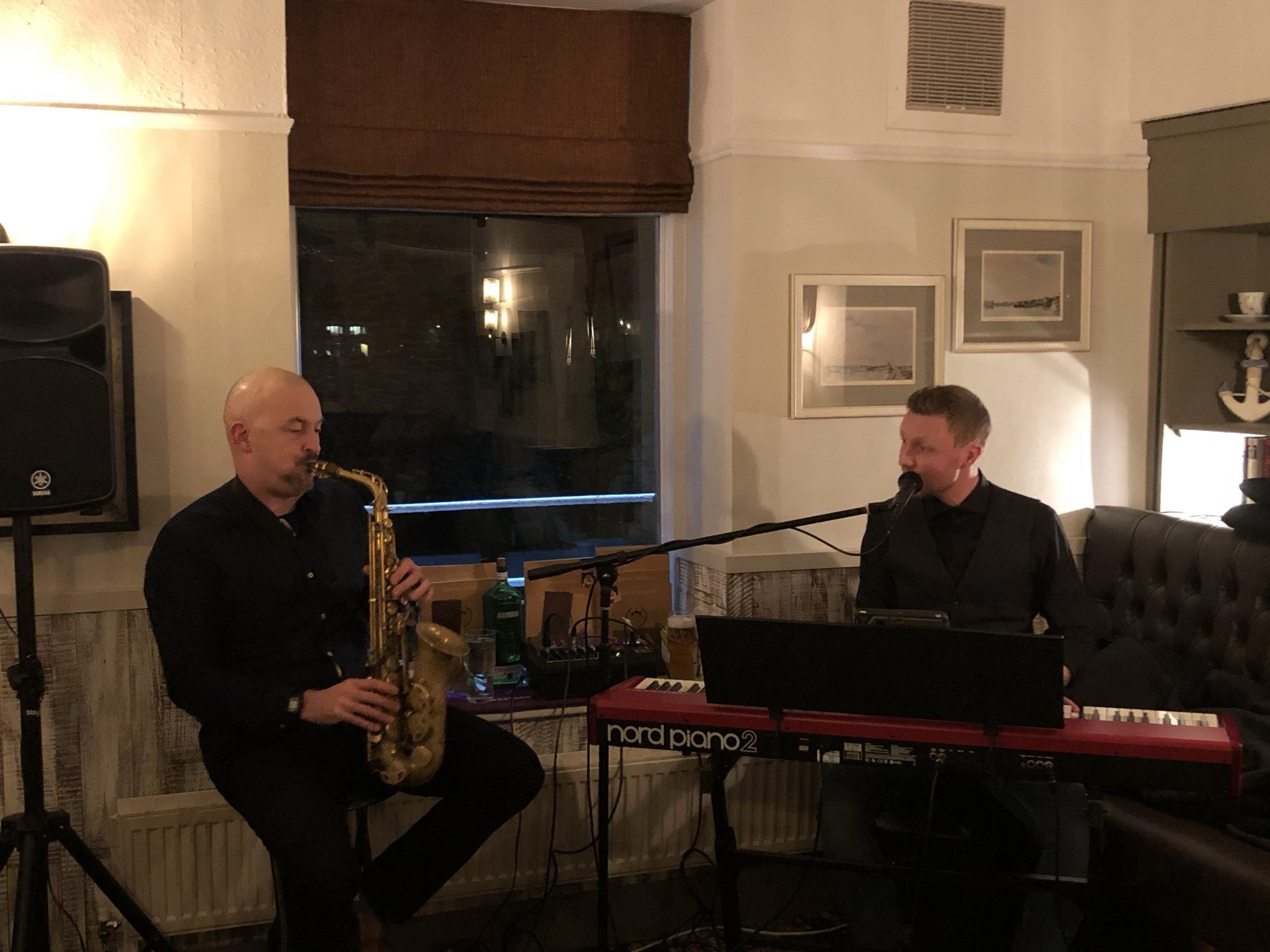 Steak and Live Music here at the Dalton Arms tonight with Fred Binley Duo